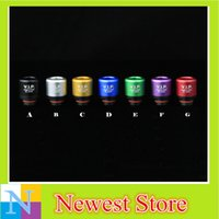 atomized aluminum - V I P Aluminum Resin Hybrid Replaceable Electronic Cigarette Drip Tip For All RDA RBA Atomize