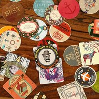 bakery school - 46pcs set Fashion flowers series seal sticker Vintage bakery tape Cooking accessories DIY Scrapbooking School supplies tt