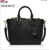 Wholesale The new quality solid color leather ladies handbags casual female alone shoulder bag handbag beautiful lady handbag