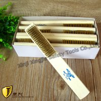 Wholesale Brass Wire Brush Cleaning Brush Non sparking Safety Hand Tools