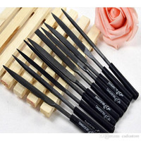 Wholesale 10x Needle File Set Files For Glass Metal Stone Jewelry Wood Carving Craft E00126 SMA