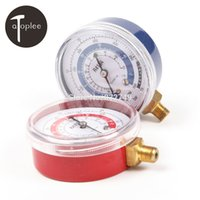Wholesale Atoplee R134A R22 R410A Air Conditioner Refrigerant Low amp High Pressure Gauge PSI KPA Refrigeration Pressure Gauge Coolant