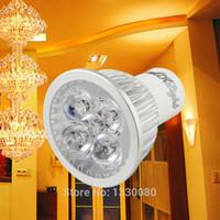 Wholesale Practical Aluminum Alloy GU10 V W LED LM Spotlight Lamp Warm White Dropshipping E5M1 order lt no track