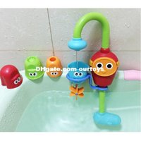 baby stackable toys - 2016 Joyful Electric Baby Bath Toy Stackable Cups Automatic Water Spraying Shower Rotatable For Kids