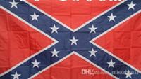 Wholesale 50pcs Printed Flag Confederate Rebel Civil War Flag National Polyester Flag X3FT
