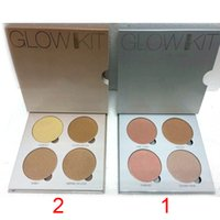 Cheap Whole sale Anastasia Beverly Hills Glow Kit real products photo Makeup Face Blush Powder Blusher Palette Cosmetic Blushes Brand Top quality