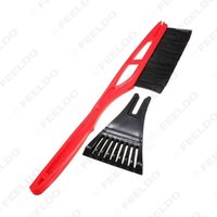 Wholesale Car Snow Brushes Scrapers - Universial for Long Handle ABS Snow Brush With Ice Scraper Garden Outdoor Car Snow Shovel Tool