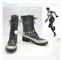 alice resident evil cosplay - Resident Evil Alice Cosplay Shoes Boots Professional Handmade Perfect Custom For You