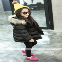 Wholesale New Girls Down Jacket Girls Outdoor Warm Jacket Size CM CM