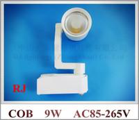 Wholesale COB LED rail light lamp LED tracking light track light spot light W COB W AC85 V aluminum CE