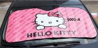 Wholesale Cute cartoon car sunshade sun visor to block the sun cover before the sun heat insulation screen