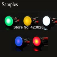Wholesale bule color Arcade Game LED Lamp LED Bulb for Illuminated Push buttons V D