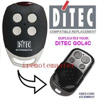 Wholesale After market DITEC GOL4C compatible remote DITEC garage door remote