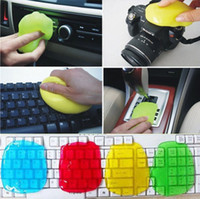 Wholesale 2017 New hot high qaulity Magic Cleaning Gel Putty Car Keyboard Console Laptop PC Computer Cleaner Dust
