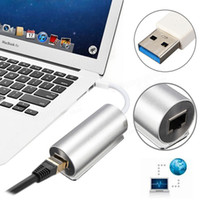 Wholesale Aluminium Alloy USB To RJ45 Gigabit Ethernet Lan Network Adapter