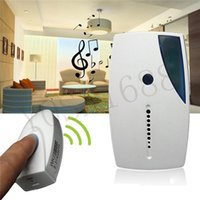 Wholesale Mini LED Wireless Chime Door Bell Doorbell Remote Control Tune Songs Pretty Streamlined Appearance