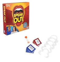 Wholesale New Speak Out Game Best Selling Hottest Family Catch Phrase Games Board Game Interesting Party Mother Daughter Game Halloween Toys