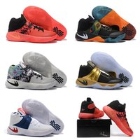 art player - New arrival Drop Shipping Famous Players Kyrie Bright Tie Dye BHM Womens Sports Basketball Shoes Sneakers Size