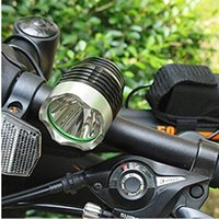 Wholesale 2000 Lumen CREE XM L T6 LED HeadLight Headlamp Bicycle Bike Light Headlamp Rechargeable Battery
