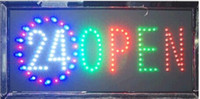 Wholesale 2016 hot sale inch Semi outdoor Ultra Bright led sign for Business shop open Hours