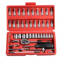 Wholesale Whole sale Piece Automotive Tool Kit Drive Socket Set Inch Ratchet Wrench