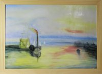 art deco paintings sale - Hot sale Hand painted Brand Porcelain Wall Paintings Seascape Serie Harbor ship Framed Ready to hang Wall Art deco for Living room