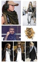 Wholesale Different Colors Factory sales New Military windproof Muslim Hijab Shemagh Tactical Desert Arabic Keffiyeh Scarf Cotton Wargame Scarf