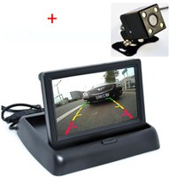auto security monitor - Auto Parking Assist System in Car Rear View Camera With Monitor Night Vision Car Parking Camera With Monitor For Security