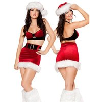 adult lingerie sale - Hot Sale Sexy Santa Christmas Lingerie Dresses Adult Women Christmas Party Cosplay Costume Merry Xmas Clothes
