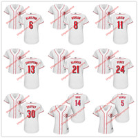 bench women - Womens Cincinnati Reds Jersey Johnny Bench Joe Morgan Barry Larkin Pete Rose Tony Perez Ken Griffey Jr Brandon Phillips Billy Hamilton