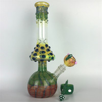 beautiful mushrooms - mushroom glass bongs water pipes beaker unique colorful zob hitman beautiful hand made heavy tube bong dab oil rigs hookah