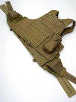 Wholesale US Molle Combat Strike Plate Carrier Vest Coyote Brown bulletproof vest