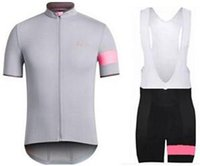 Wholesale Gray Assos Cycling Jerseys Sets Tracksuits Training Ropa Ciclismo rapha Bike Clothing Cycle Sportsuits Road Bicycle Clothes Bib Shorts