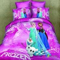 belle ice - 100 cotton home textile twill cartoon anime Bedding set Bedclothes Duvet cover set Comforter sheet pink ice belle S217