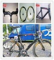 Wholesale Cheap complete Road Bikes Wiggo Online with Original ULTEGRA ipp yellow Carbon Wheelset ALL parts