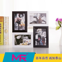aperture photo - 6 inch photo frame EU simple style design wooden picture frame printed or aperture picture frame can be wall mounted
