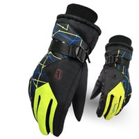 Wholesale Outdoor Hiking Camping Riding Men s Ski Gloves Motorcycle Winter Women Glove Windproof Waterproof Unisex Snow Gloves