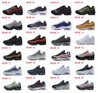 Wholesale 2016 New max Running Shoes Anniversary Men Sneakers High Quality Original Cheap Maxs Air Cushion Outdoor Jogging Shoes Size