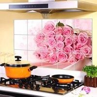 american home accessories - Kitchen Wall Stickers cm Foil Oil Sticker Aluminum Copper Waterproof Anti Smoke Decal Home Decor Art Accessories Decorations Design