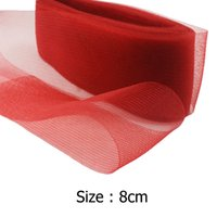 Wholesale IuBuFiGo quot cm Flat Plain Horsehair Crinoline Chrinolin Mesh Braid For Women yard
