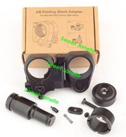 Wholesale Hot Sale AR Folding Stock Adapter For M16 M4 SR25 Series GBB AEG For Scope