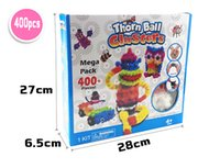 Wholesale 2016 New DIY Mega Pack Bunchems Thorn Ball Clusters Toys Gifts Puff Ball kids gifts christmas interesting children toys