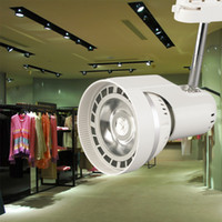 Wholesale 24W Shop Display Ceiling LED Lamp Track Spot Light Lamp Rotation NEW Hot