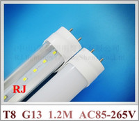 Wholesale LED tube lamp light LED fluorescent tube bulb T8 G13 mm m lm W constant current driver inside AC85 V input CE