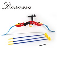 arrow equipment - Hot Shooting Toys Boy Toy Of Bow And Arrow Parent child Shooting Toys Outdoor Sports Fitness Equipment Props