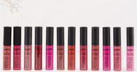 best lip gloss brand - NYX Soft Matte Lip Cream Lipstick NYX Makeup Charming Long lasting Daily Party Brand Glossy Makeup Lipsticks Lip Gloss best