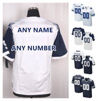 Wholesale 2016 Cowboys Men s Elite Dallas Custom Football Jerseys Home Away Thanksgiving White Blue Stitched Any Name Number ELLIOTT High Quality