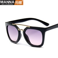 beaming baby wholesale - 2016 Limited Acrylic Sports Square Boys Girls No New Dual Beam Children s Sunglasses Fashion Super Light Children Baby