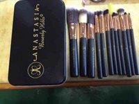 Wholesale TOP quality new Anastasia makeup brush set nylon hair foundation makeup brushes tools for make up