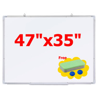 Wholesale New Office Dry Erase Board quot x35 quot Single Side Magnetic Writing Whiteboard